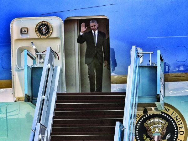 """בעקבות החלטת האו""""ם, הארגונים היהודיים יישרו קו נגדו. אובמה צילום: קוקו, רשות שדות התעופה"""