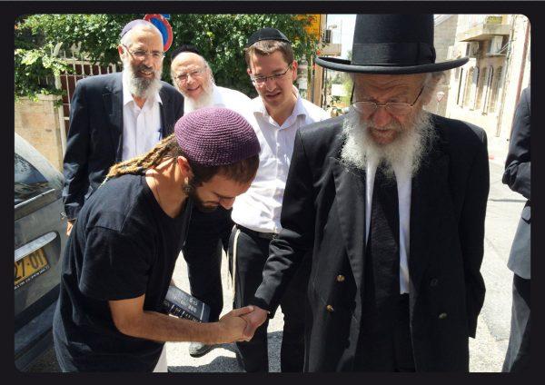 """הרב יעקב אדלשטיין זצ""""ל. צילום סלולרי: ידידיה מאיר"""