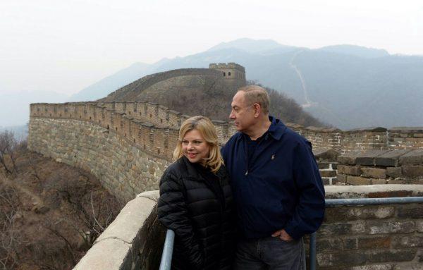 """לא מקבל גיבוי בליכוד. נתניהו בסין צילום: חיים צח, לע""""מ"""