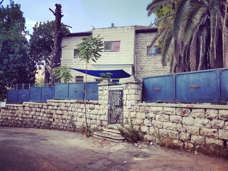הבית ברחוב פיק 8, השבוע צילום סלולרי: ידידיה מאיר