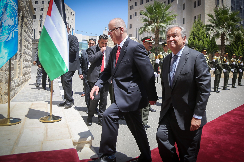 לא מועיל, לא מזיק. אנטוניו גוטרש בישראל צילום: פלאש 90