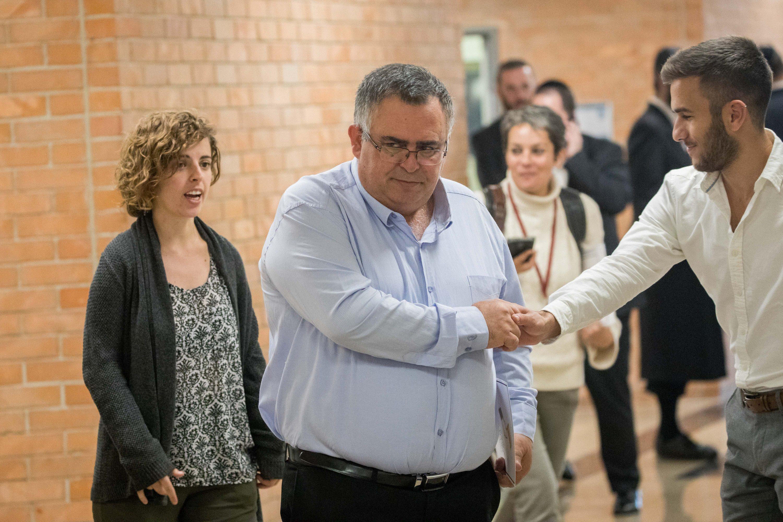 ראש הממשלה ירצה להחזיר את ניהול הקואליציה לסגנון השקט. ביטן במסדרונות הכנסת צילום: יונתן זינדל, פלאש 90