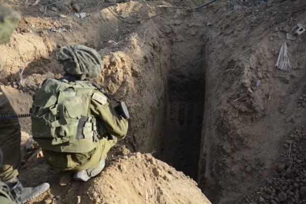 """יכולת שמעמידה את ישראל במקום מתקדם ביחס לעולם. חשיפת מנהרה בידי צה""""ל צילום: דובר צה""""ל, פלאש 90"""