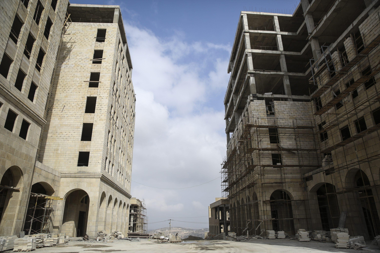 """אל-מסרי אמר: """"אם נצליח להקים את העיר, נצליח להקים גם מדינה"""". רוואבי צילום: הדס פרוש, פלאש 90"""