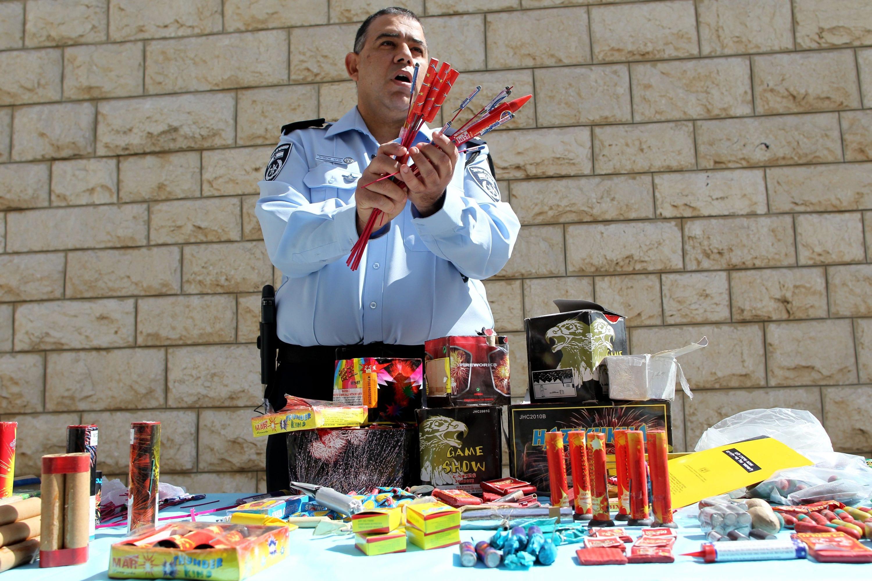 נרכש במכירת החיסול של דאעש. נפצים צילום: נתי שוחט, פלאש 90
