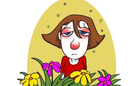 איך יודעים שבא אביב? אלרגיה